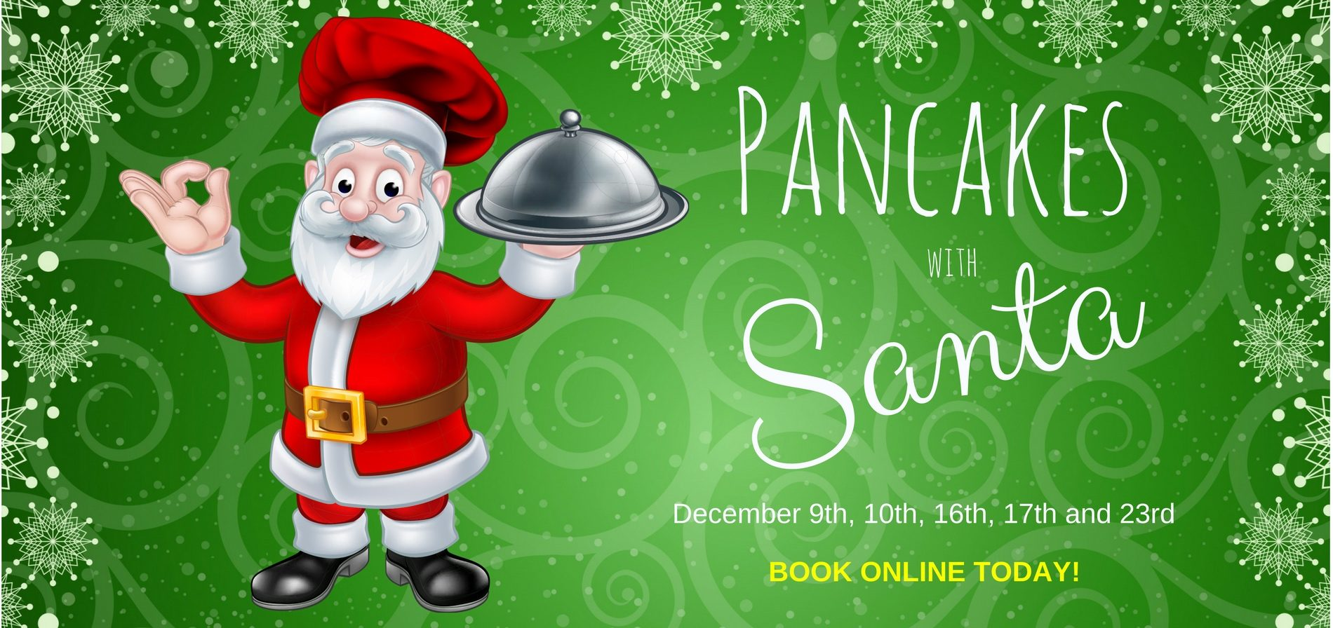 Pancakes with Santa slider